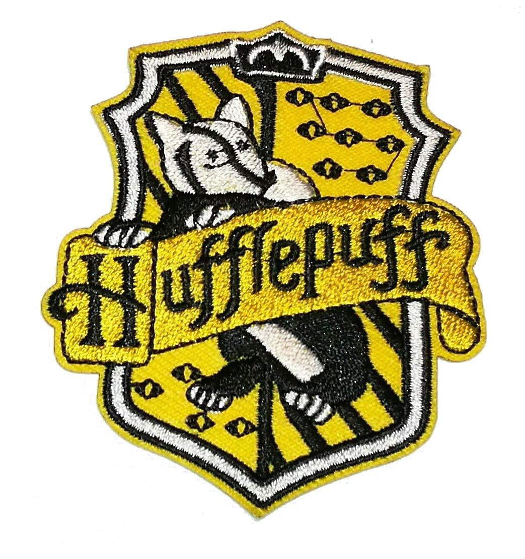 Toppa termo-adesiva ricamata a tema Harry Potter - Tassofrasso choppershop