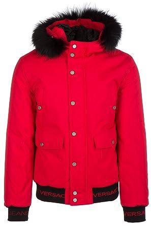 Versace Jeans parka anorak veste homme rosso EU 48 (UK 38) E5GQB900 QUM400 339e0101e7e