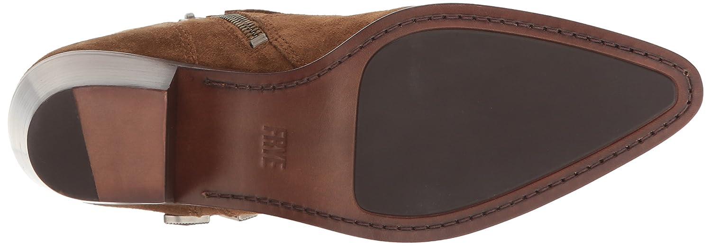 FRYE Women's Ellen Buckle Short Western Boot B01H4X94PM 6 B(M) US|Chestnut