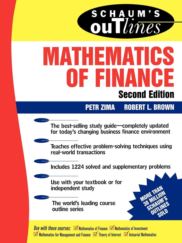 Schaum's Outline Of Mathematics Of Finance  Schaum's Outlines