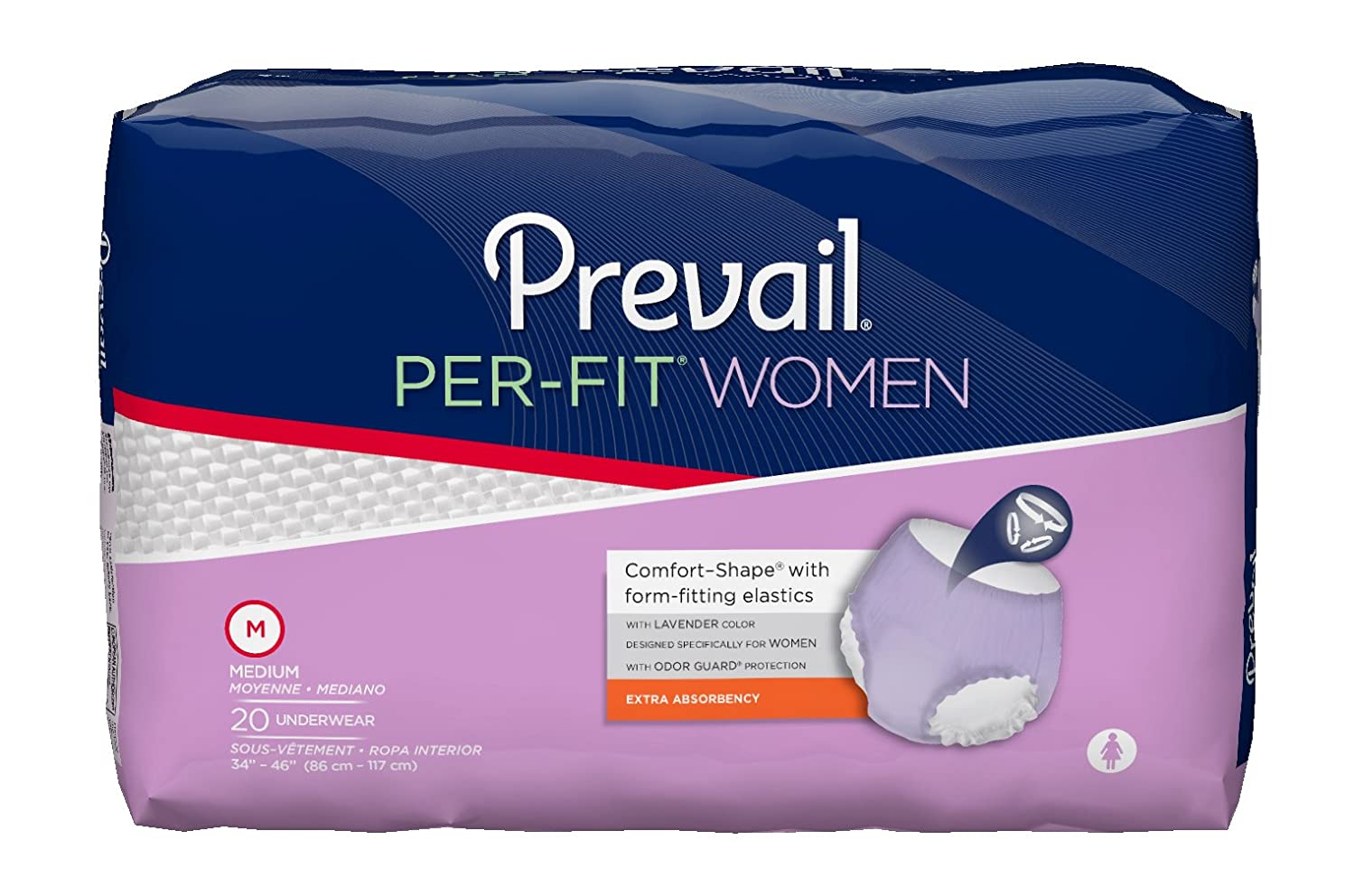 Prevail Per-Fit Underwear for Women (Medium)