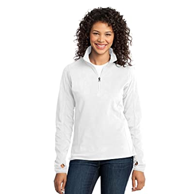 Port Authority Women's Microfleece 1/2 Zip Pullover at Women's Clothing store