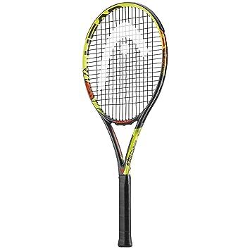 Head Challenge MP Raqueta de Tenis - Antracita/Amarillo, 4 Agarre: Amazon.es: Deportes y aire libre