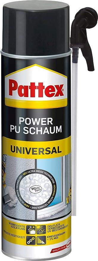 Gut gemocht Pattex 1295865 Power PU-Schaum 500 ml: Amazon.de: Baumarkt TQ68