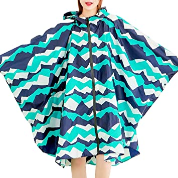 XINCH Poncho Impermeable Impermeable for Mujer Impermeable ...