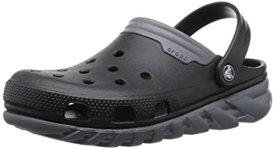 Men kfrcWPdL Crocs Duet Max Clog Black/Charcoal