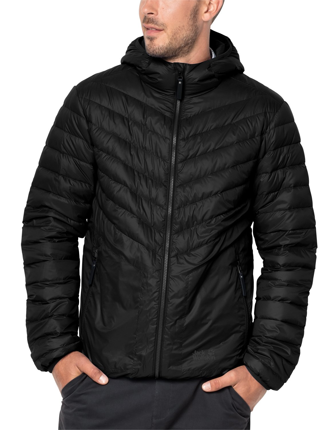 Jack Wolfskin Men's Vista Jacket, 3X-Large, Black