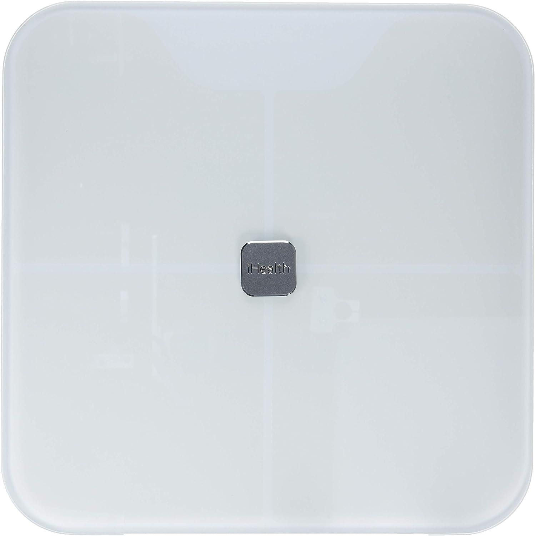iHealth Ihealth Nexus Bluetooth Body Fat Scale Smart bmi Scale Digital Bathroom Wireless Weight Scale, 5 Pound
