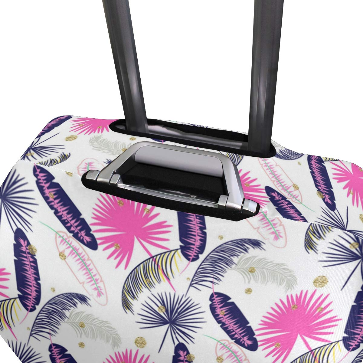 Wonderful Banana Leaf Clothing Traveler Lightweight Rotating Luggage Protector Case Can Carry With You Can Expand Travel Bag Trolley Rolling Luggage Protector Case