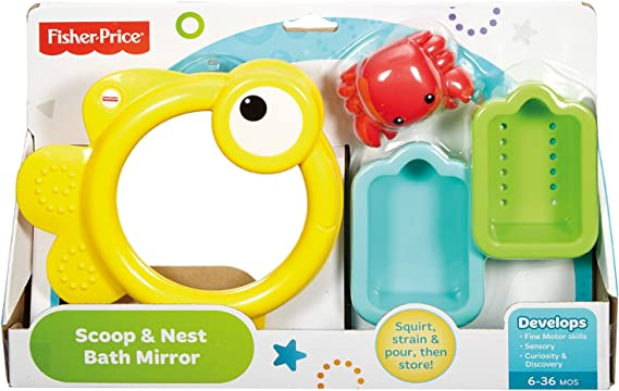 Infant - Espejito para baño Fisher-Price (Mattel CMY27) , color ...