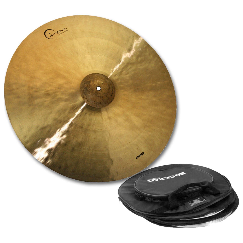 Dream Cymbals ECRRI20 20'' Energy Series Crash/Ride Cymbal w/ Free Cymbal Bag by Dream Cymbals and Gongs