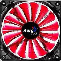 Cooler Fan 12Cm Shark Devil Red Edition Led En55437, Aerocool, Acessórios para Computador, Vermelho