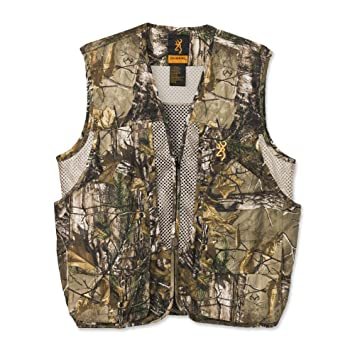 dc52d9f9d746f Browning Upland Game Vest, Realtree Xtra, X-Large, Clothing - Amazon Canada