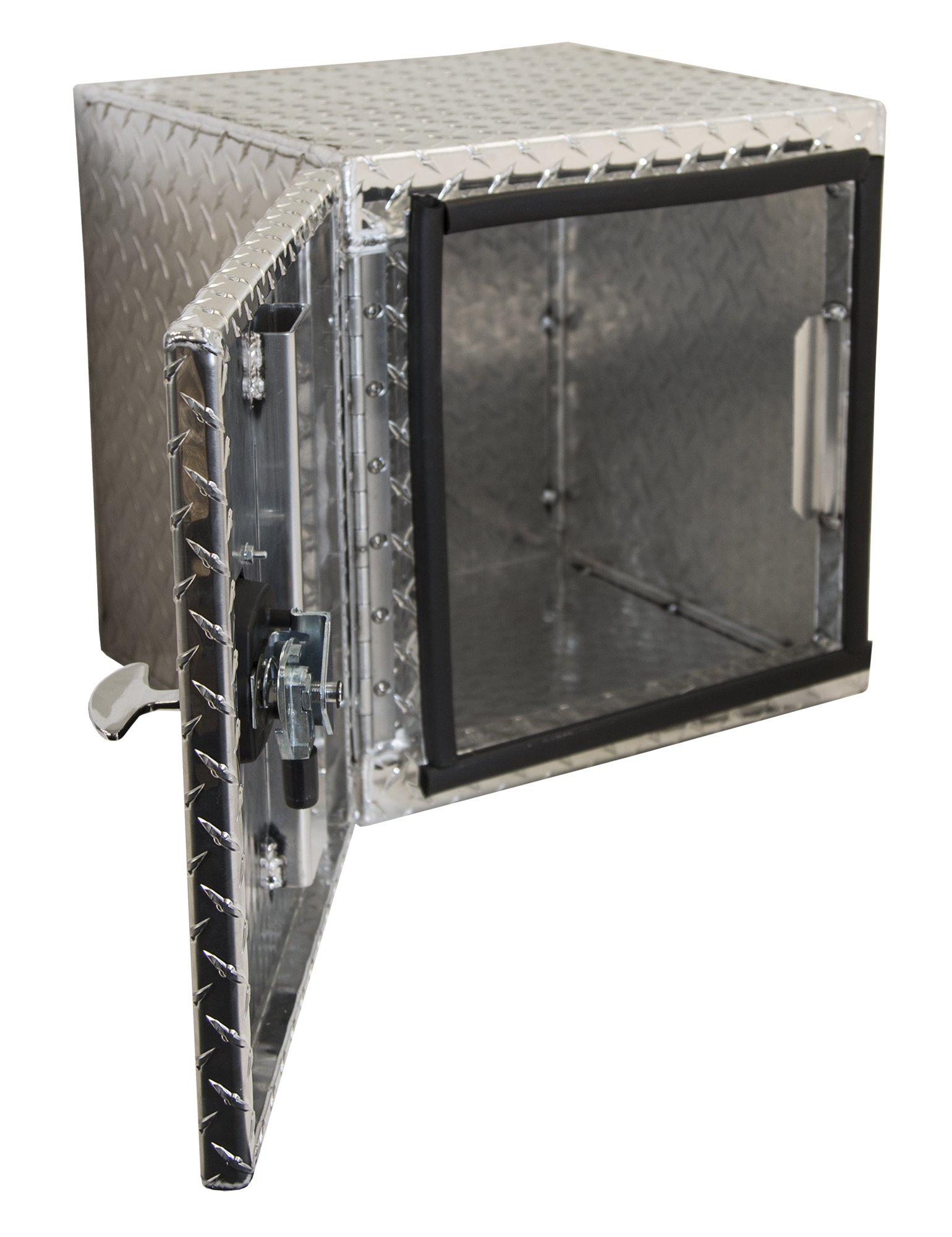 Buyers Products 1705200 Diamond Tread Aluminum Underbody Truck Box w/Barn Door (18x18x24 Inch) by Buyers Products (Image #2)