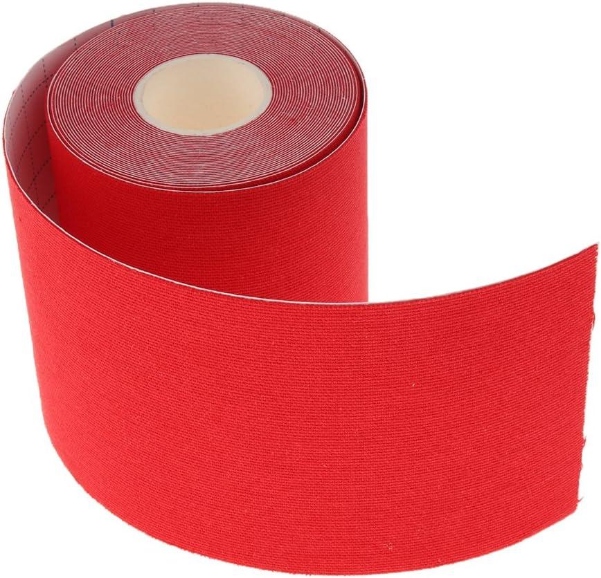 sharprepublic Cinta Adhesiva de Músculo Rollos de Vendaje de Algodón para Dedos y Esguinces - Rojo: Amazon.es: Deportes y aire libre