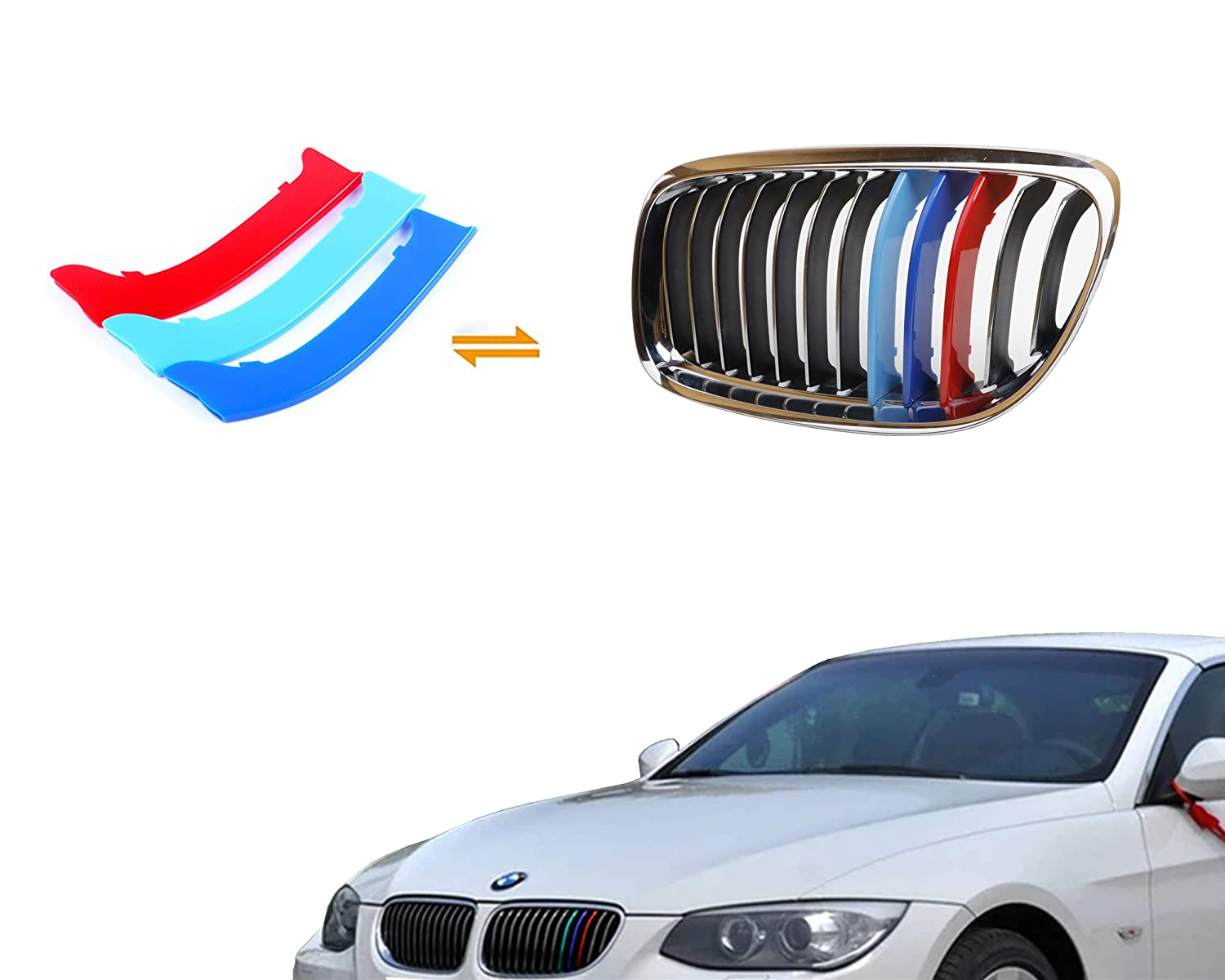 jackey awesome exact fit m colored grille insert trims for 2014