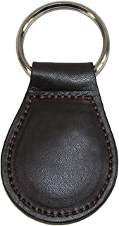 product image for Boston Leather Smooth Leather Tear Drop Key Fob