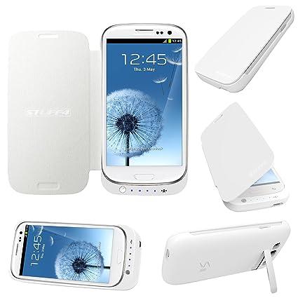 STUFF4 ® Samsung Galaxy S3/SIII - carcasa cargador para Pack de ...
