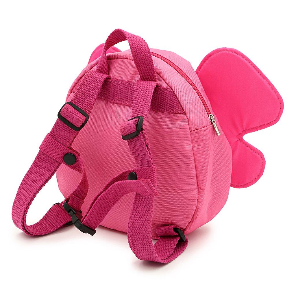 BTSKY harnais de marche s/écuris/é pour b/éb/é avec ailes de papillon et sac /à dos avec sangle pour enfants