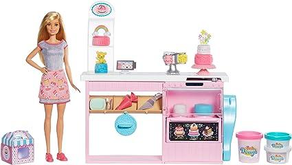 Barbie Cocina Y Crea Muneca Chef De Pasteles Con Masitas Apto Para