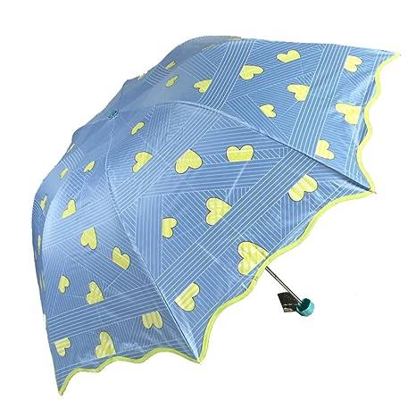 Creativo Paraguas de setas,Compacto de sombrillas,Paraguas plegable,Sol y lluvia Protección