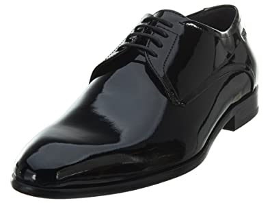 363b69969e700 Hugo Boss BOSS Men's C-Dresspat Patent Leather Lace Up Derby by Hugo Black 8