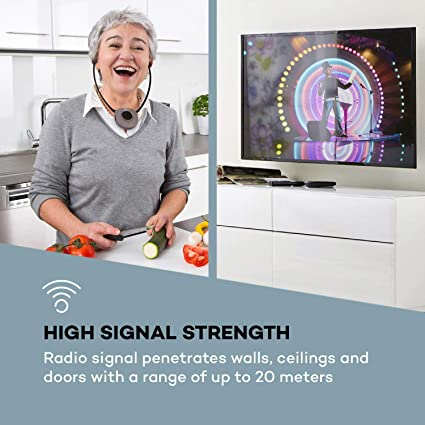 auna Stereoscope Auriculares de Barbilla inalámbricos: Amazon.es: Electrónica