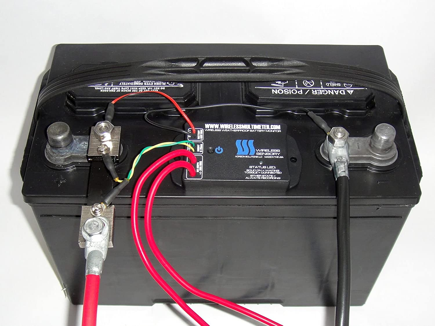Rv open roads forum tech issues how to monitor battery state wireless bluetooth battery monitor mounts at battery monitor with your smart phone or tablet greentooth Images