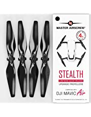 MAS Upgrade Propellers for DJI Mavic AIR in Black - x4 in Set