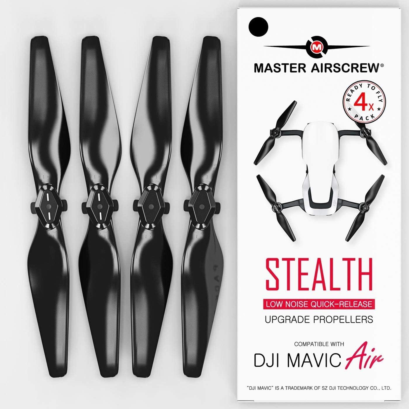 Helices Para DJI Mavic AIR (4 Pares) negro