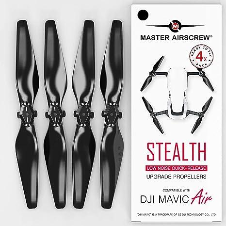Opinión sobre MAS Hélices perfeccionadas para dji Mavic Air en Negro - x4 en Juego