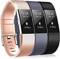 Fitbit Charge 2 Bands, DigiHero Replacement Band Metal Clasp Fitbit Charge 2 Band/Fitbit Charge 2, No Tracker