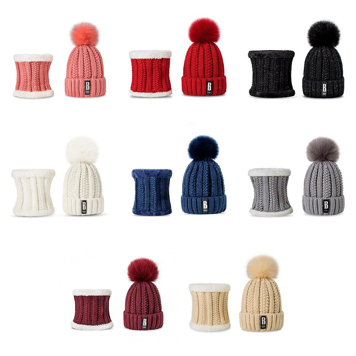 Accessories Balaclavas poslinemb.pl YIHU 8 Colors Winter Hat Suits ...