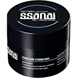SSANAI Hair Stunner - Men's Hair Styling Matte Wax Workable Molding Cream Paste Sculpting Texturizer Putty, Super Strong Hold with No Shine, for Short Spiky Wild and Modern Hair Styles, 50g 1.76oz