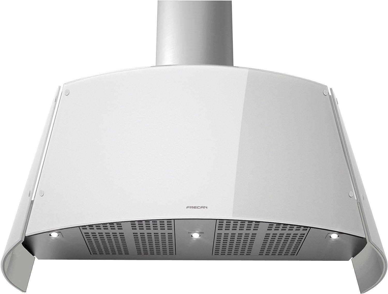 FRECAN - Campana extractora de pared REGATTA de 80 cm de color blanco: Amazon.es: Grandes electrodomésticos