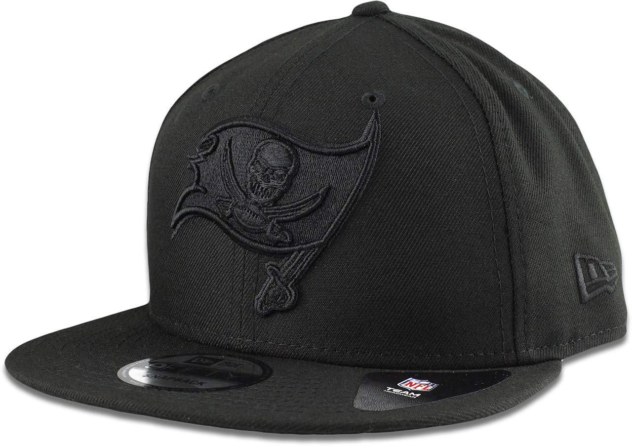 designer fashion 61073 3c8c3 ... wholesale amazon new era tampa bay buccaneers hat nfl black on black  9fifty snapback adjustable cap