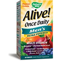 Nature's Way Alive Once Daily Men's Multivitamin (60 Tablets)