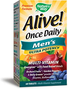 Nature's Way Alive Once Daily Men's Multivitamin