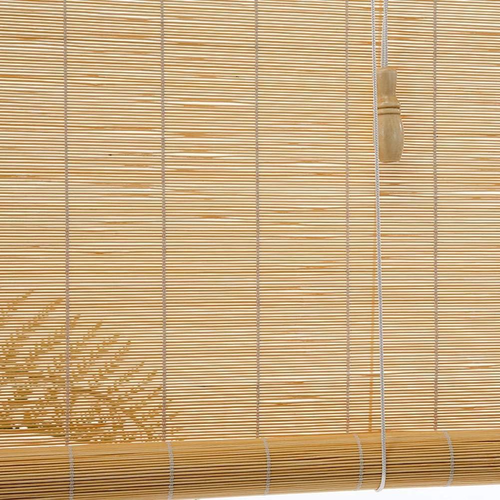 Persiana Enrollable Persianas exteriores enrollables 60cm / 80cm / 100cm / 120cm / 140cm de ancho - Sombra enrollable al aire libre para terraza Patio trasero Gazebo Pérgola Balcón Patio Porche Cocher: Amazon.es: Hogar