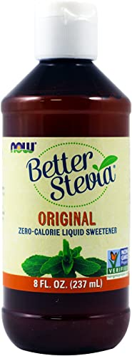Now Foods BetterStevia Original Liquid Extract – 8 fl. oz. 3 Pack