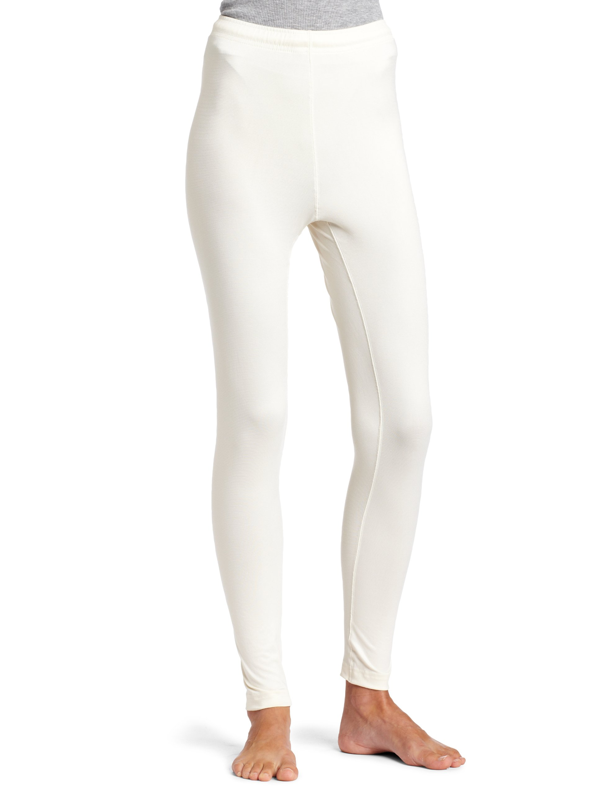 Duofold Women's Midweight Ankle Length Bottom,Pearl,Large