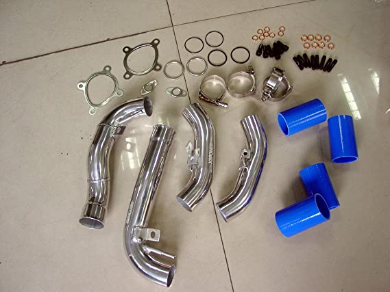 Amazon.com: A6 2.7L Allroad Audi RS4 S4 B5 Turbo Inlet Pipes BLUE K04: Automotive
