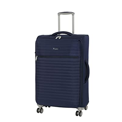 """it luggage 27.4"""" Quilte Lightweight Expandable Spinner, Patriot Blue"""