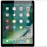 iPad Pro 12.9 フィルム,NEKING ガラスフィルム 2017版 旭硝子製 硬度9H 耐指紋 気泡ゼロ 2.5D 極高透過率 12.9インチ専用 2017用