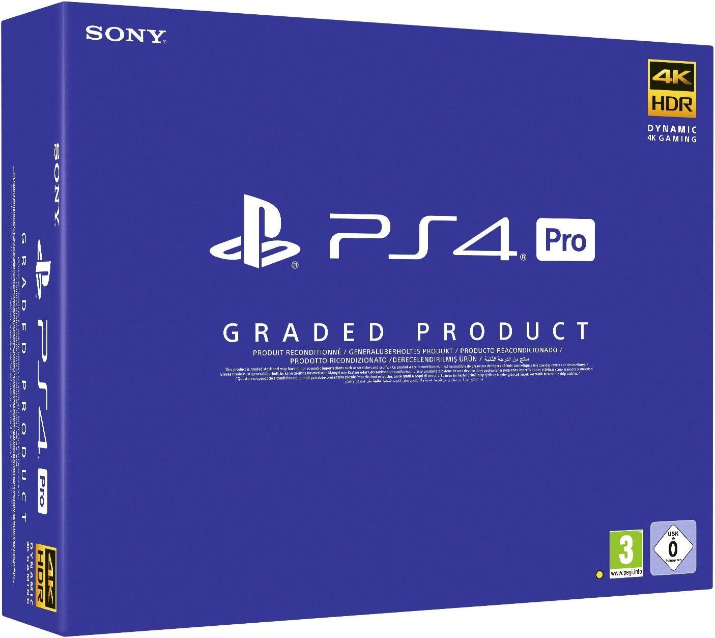 Graded Retail Ps4 Pro 1Tb B - PlayStation 4 (Ricondizionata) [Importación italiana]: Amazon.es: Videojuegos