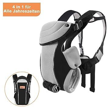 f00f75c3af0 Bable Porte-bébé ergonomique ventral 3-en-1 portant bébé à l avant ...