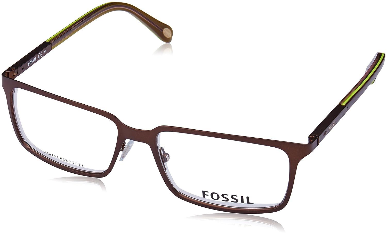 051a2c002e1 Fossil Fossil 6072 0EAB Brown Eyeglasses  Amazon.ca  Luggage   Bags