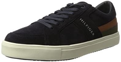 M2285OON 1C2, Sneaker Bas Cou Homme, Beige (Cashmere), 45 EUTommy Hilfiger