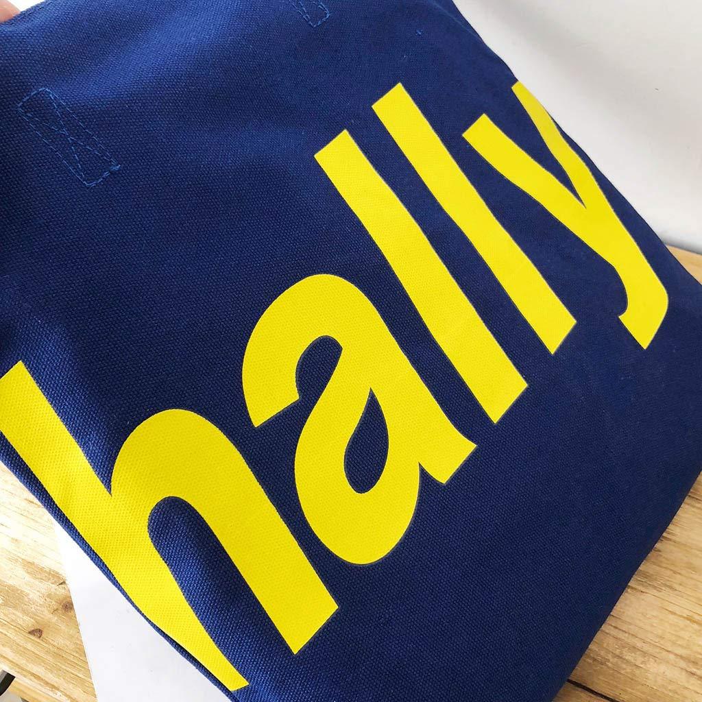Casual Solid color Canvas Shoulder Bag Large, Khaki Adagod Large Capacity Tote Messenger Handbag