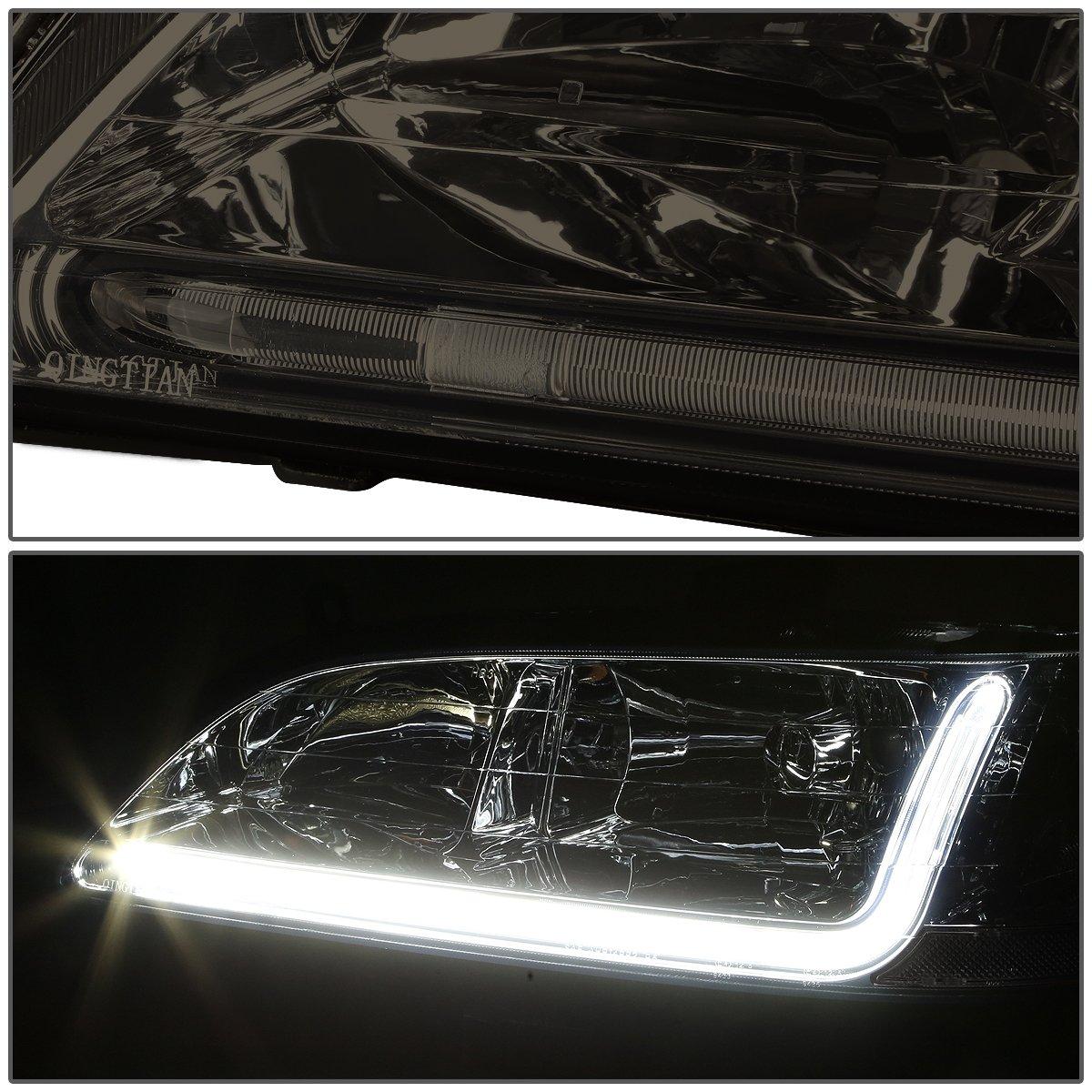 Driver /& Passenger Side DNA Motoring HL-LB-HA98-SM-CL1 Headlight